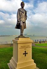Douglas Jenning's Pujji DFC statue, 2014